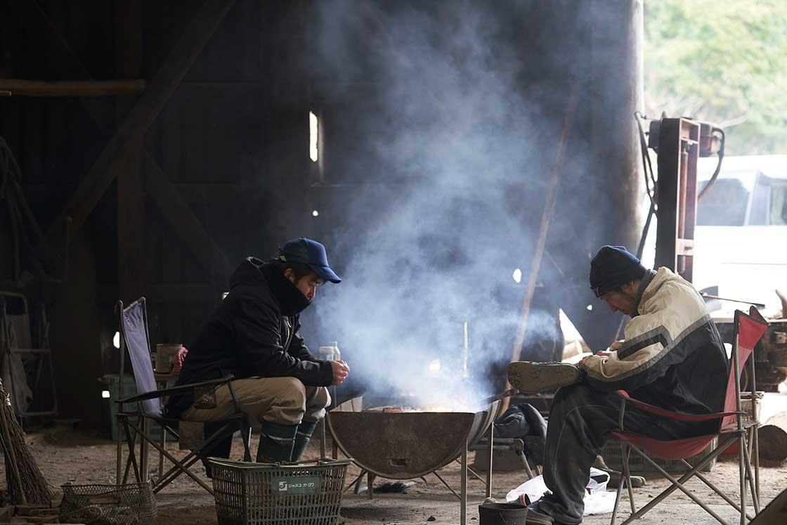 炭焼き職人