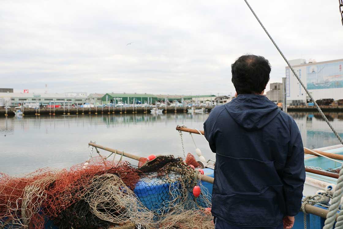 船橋漁協の吉種さん