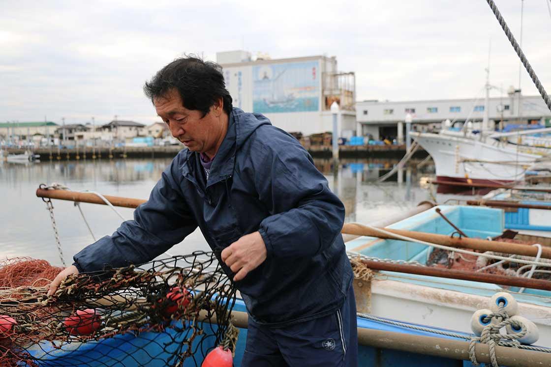 漁師の吉種勇さん