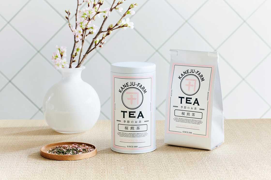 「桜煎茶」の商品パッケージ