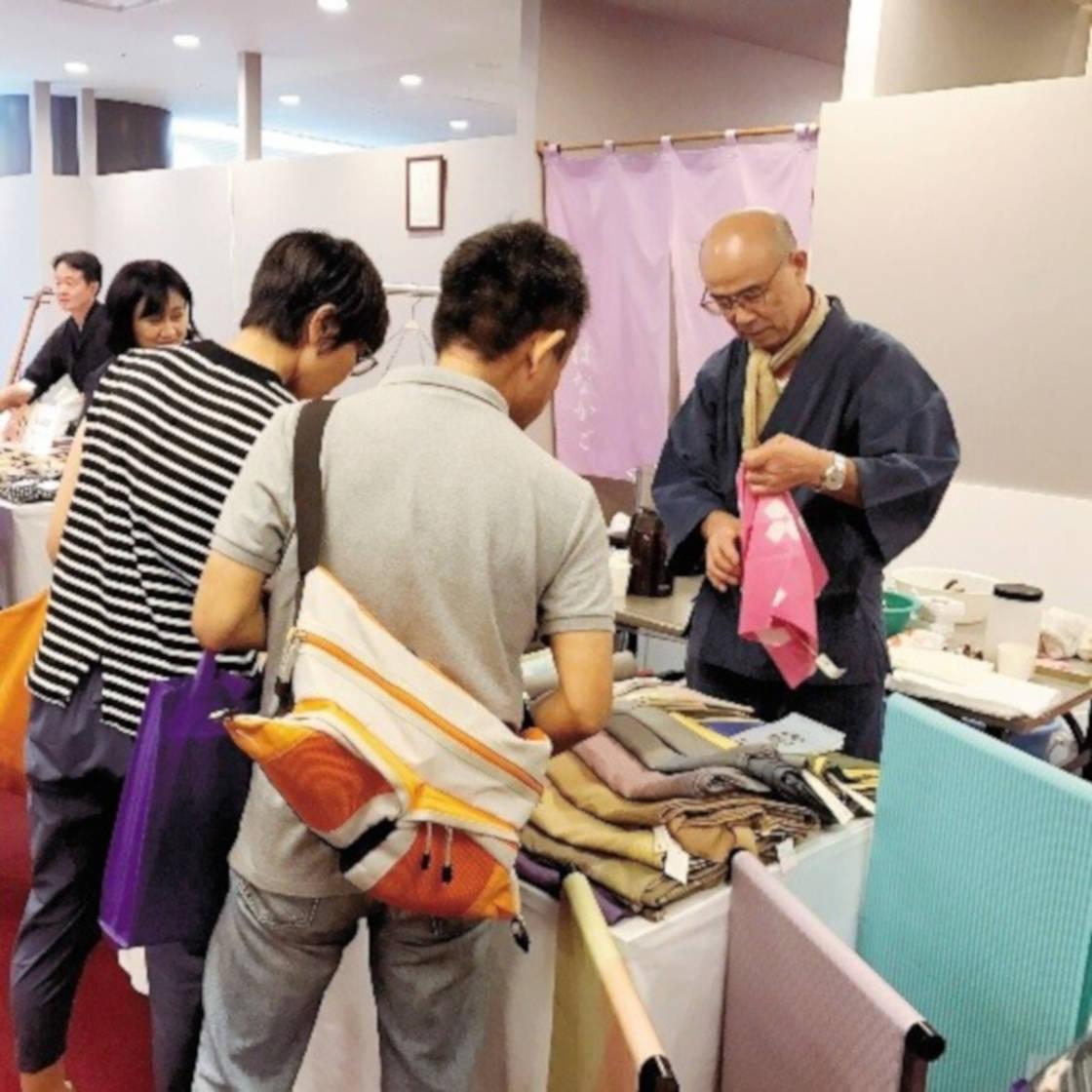 伝統工芸品展示販売