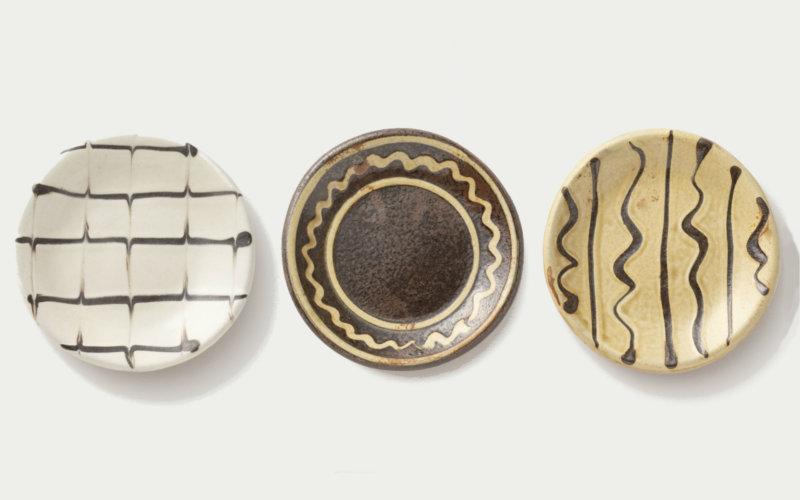 丹波焼 丹窓窯の豆皿