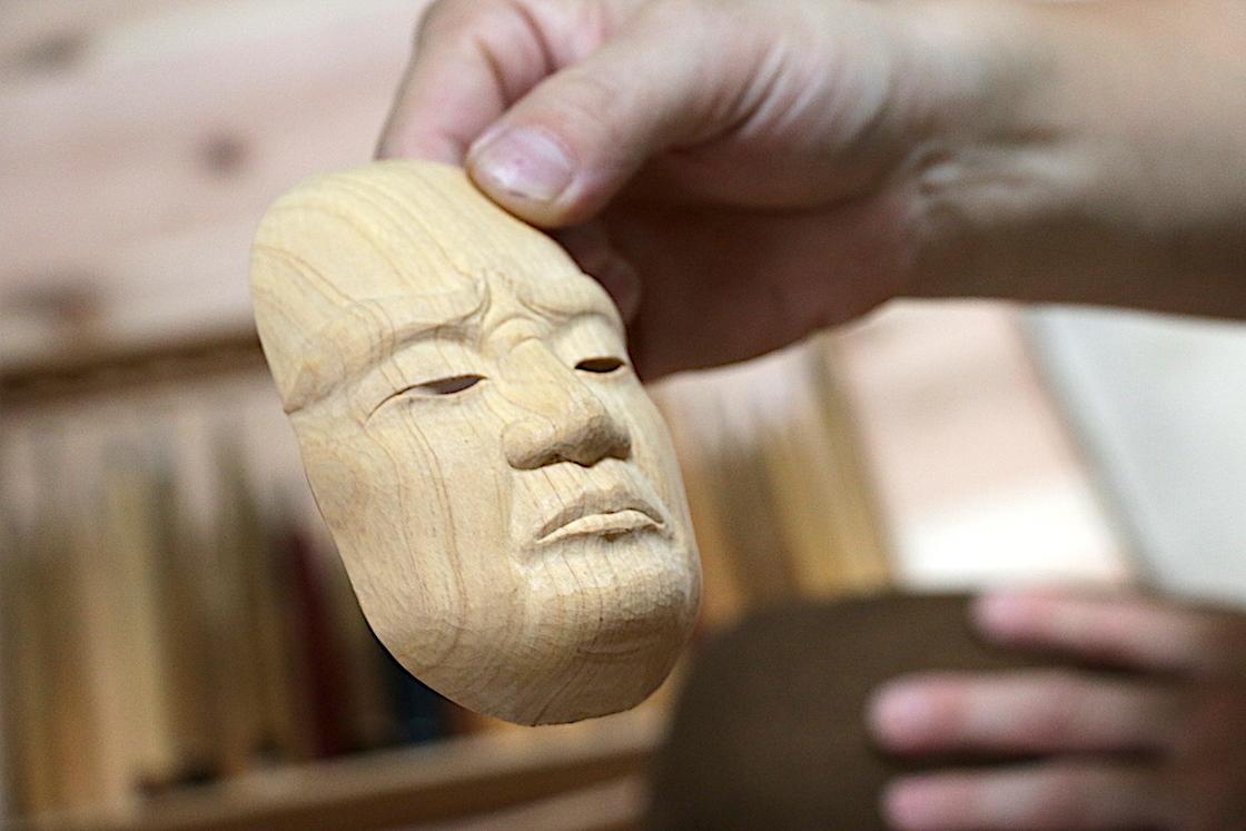 現在製作中の「顔」部分