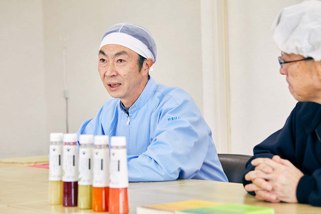 野島食品 社員インタビュー風景