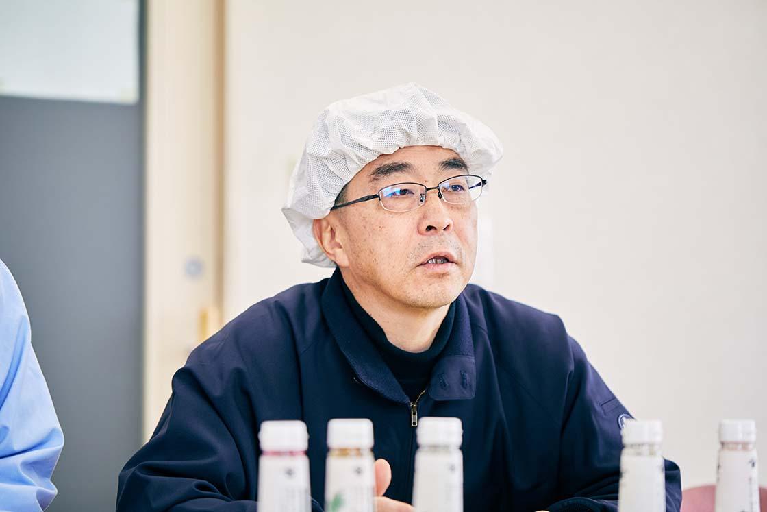 野島食品 社長の野島謙輔さん