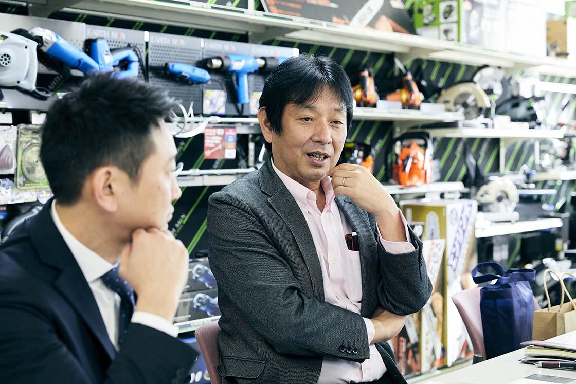 株式会社高儀の五十嵐篤さん(第3事業部営業部取締役部長)