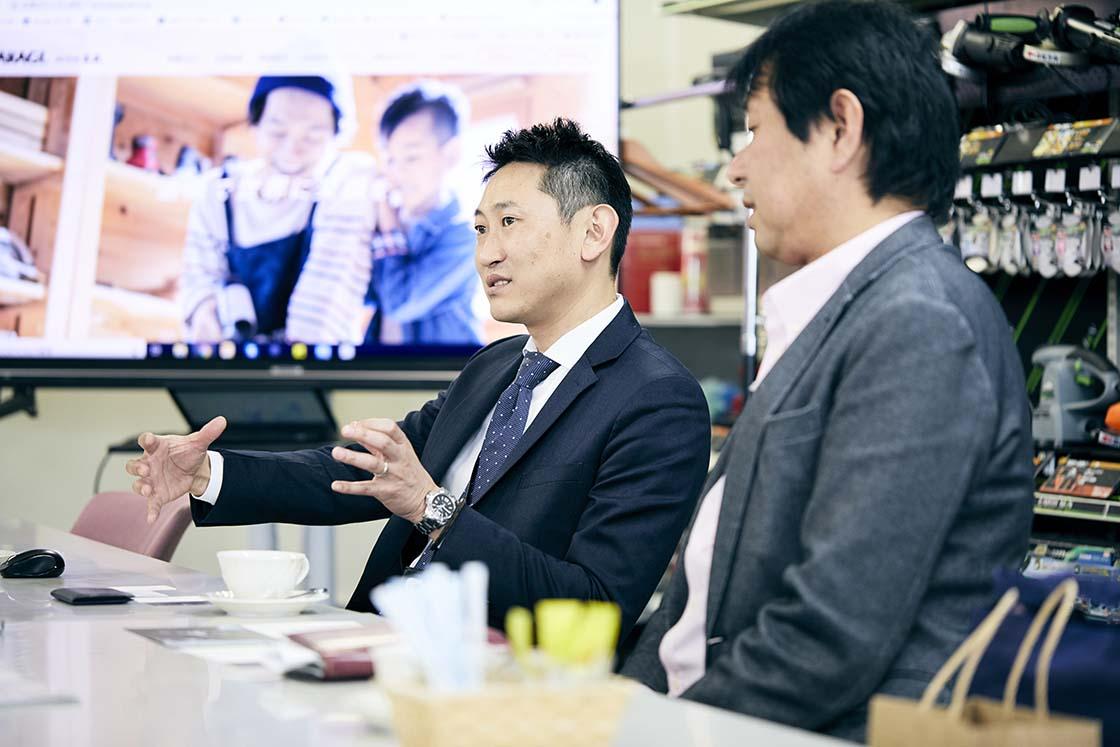 株式会社高儀 第3事業部営業部営業企画 課長 中田博明さん