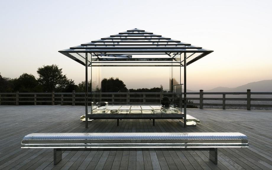 吉岡徳仁氏の「ガラスの茶室」が国立新美術館に!2021年まで特別公開
