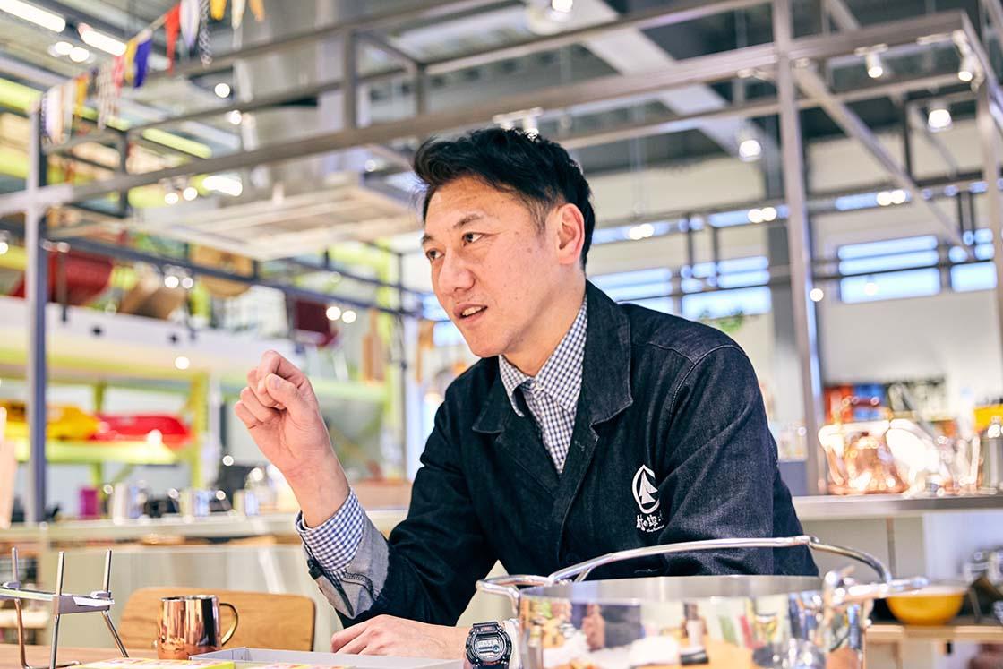 山谷産業 代表取締役社長 山谷武範さん