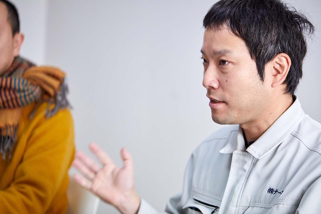 株式会社テーエム 代表取締役渡辺 竜海さん