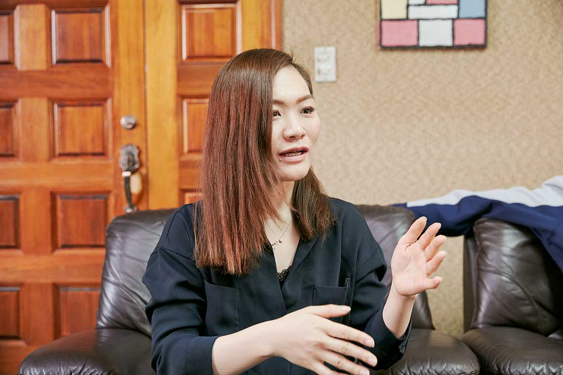 娘さんで企画開発を担当する小嶋恵理香さん