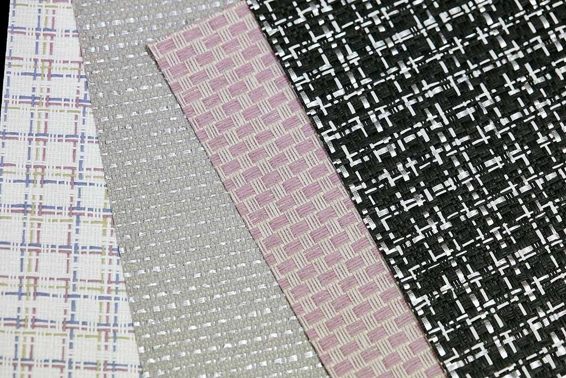 糸や織り方のアイデア次第で、デザインも様々