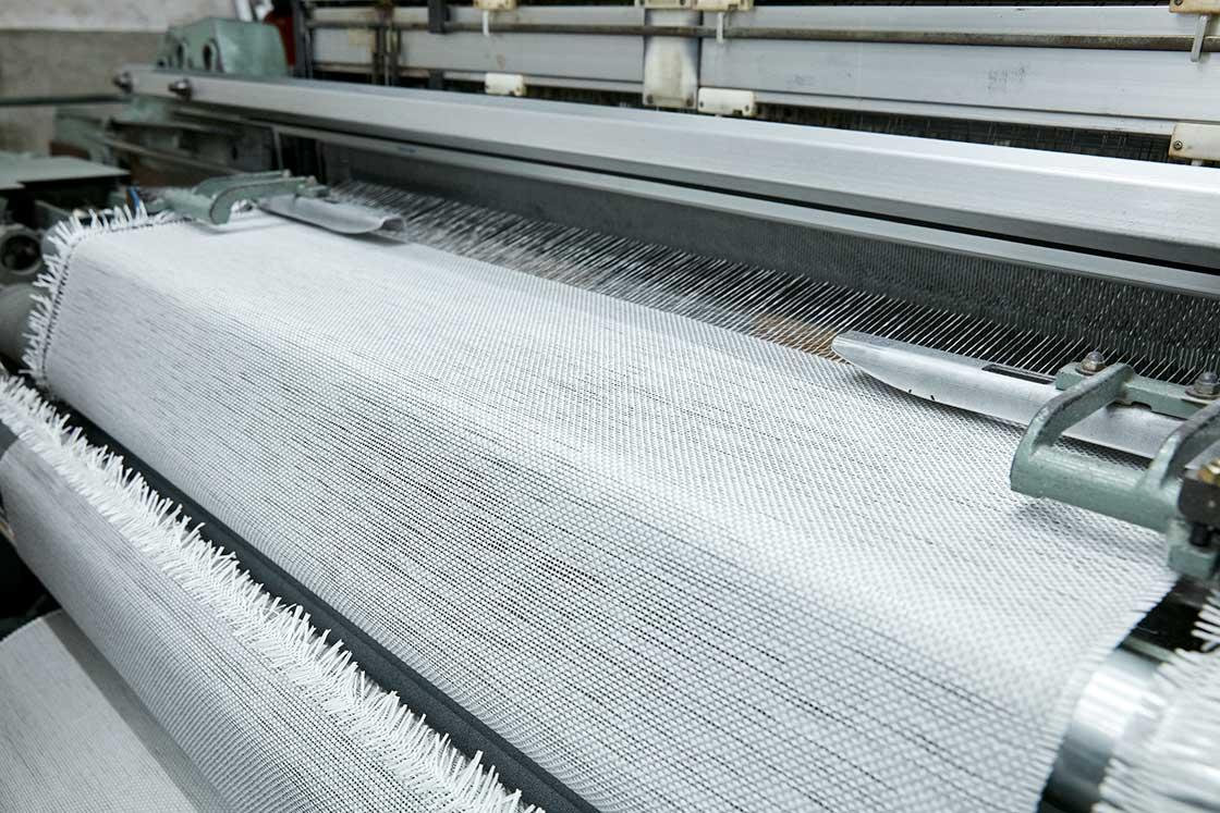 こちらは紙の糸で織っている生地