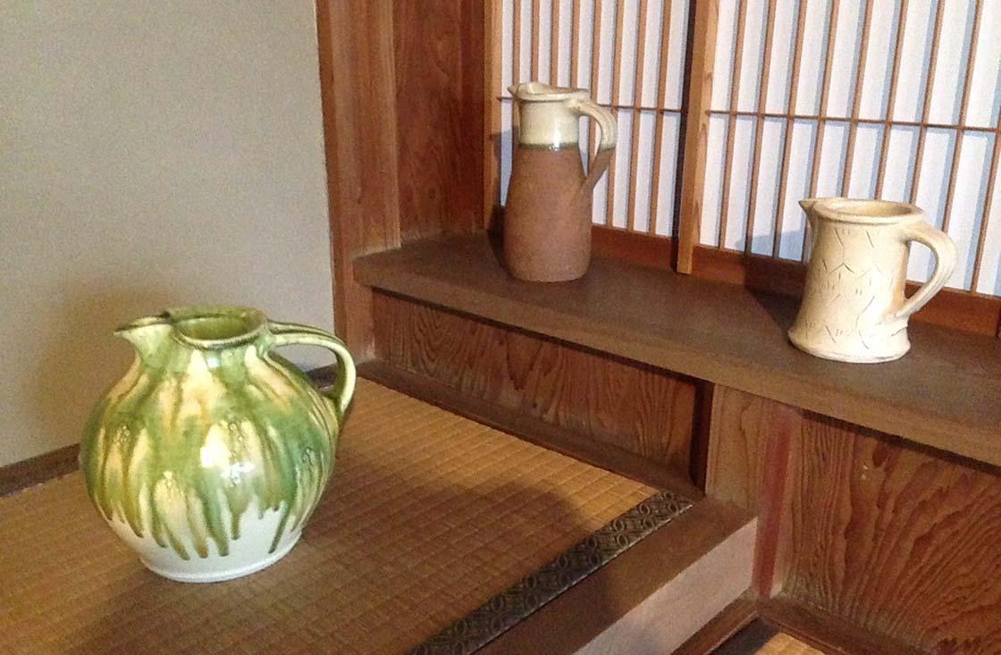 布志名焼船木窯