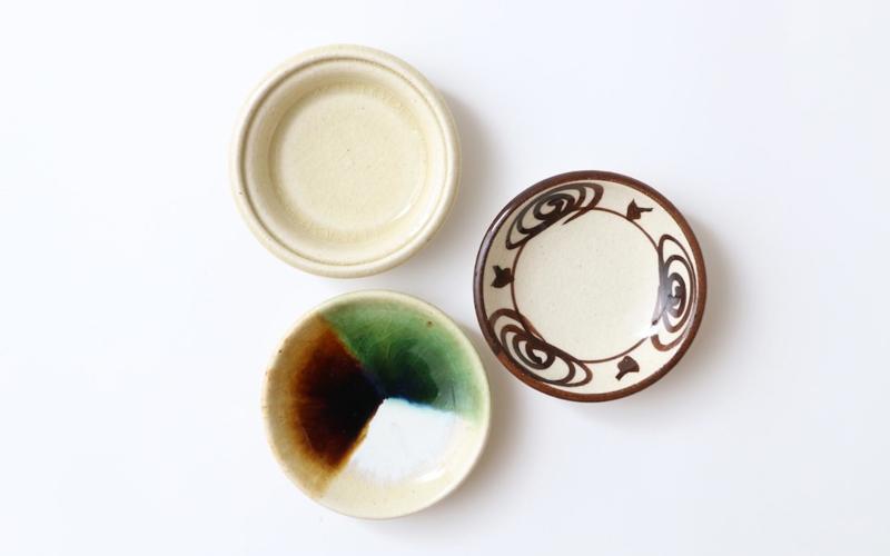 瀬戸本業窯の豆皿