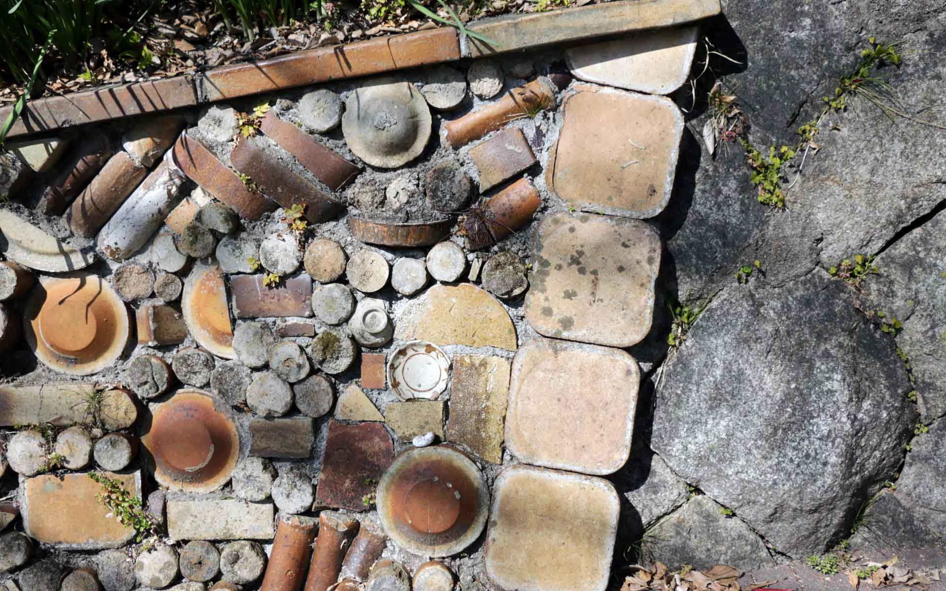 瀬戸本業窯 窯垣の小径