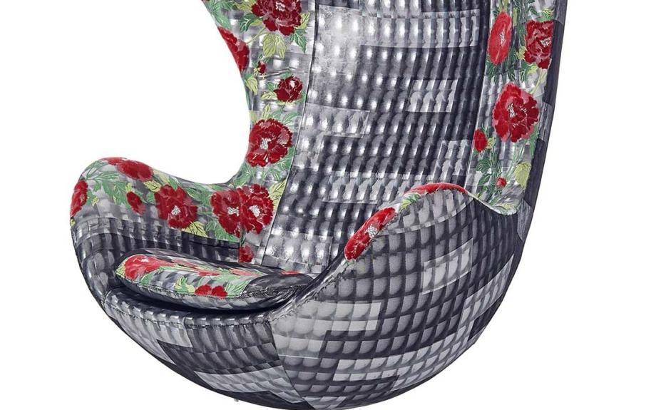 京都の織物とフリッツ・ハンセンがコラボ!気鋭のデザイナーによる今までにないエッグチェアが誕生