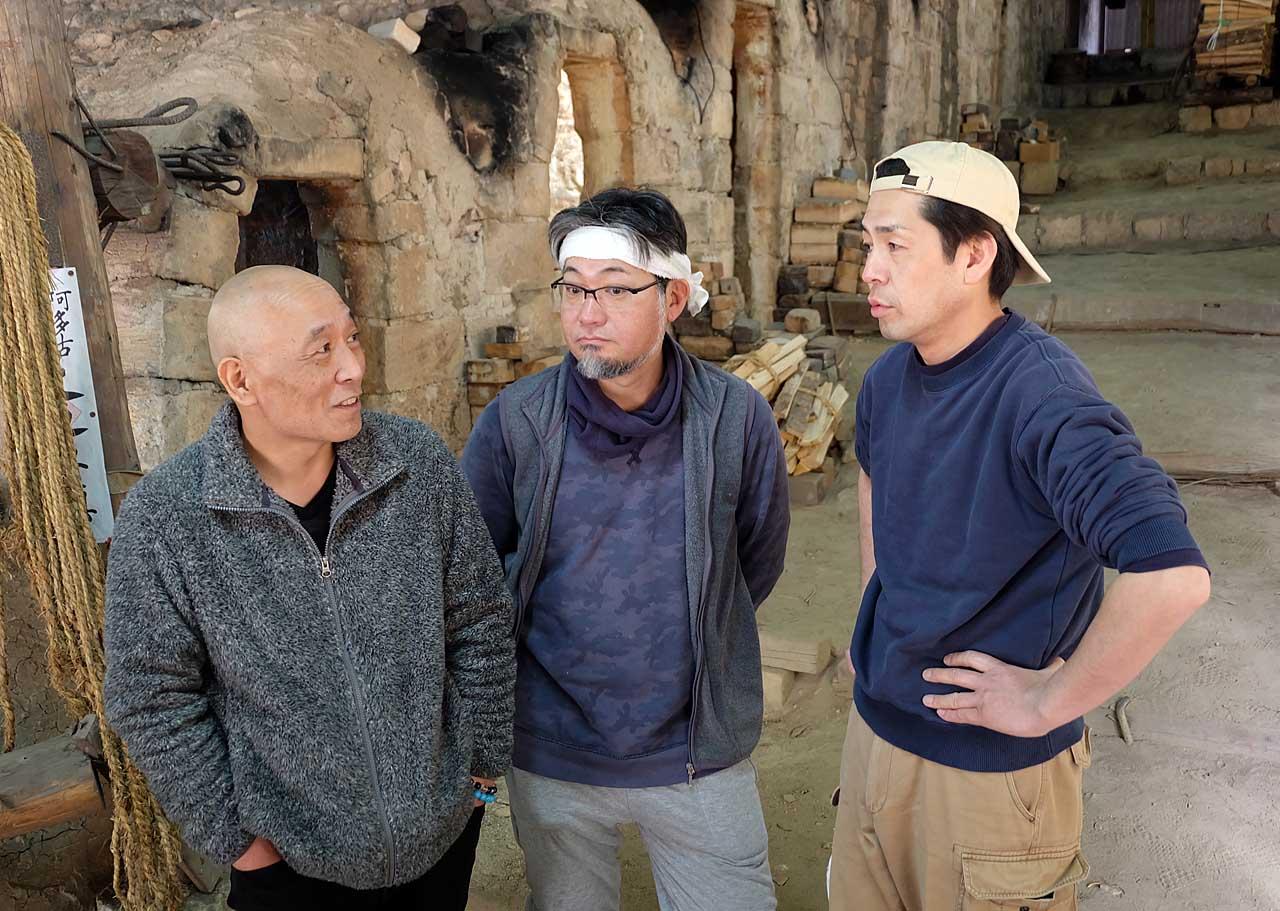 左から宮川香雲さん、林淳司さん、西村徳哉さん