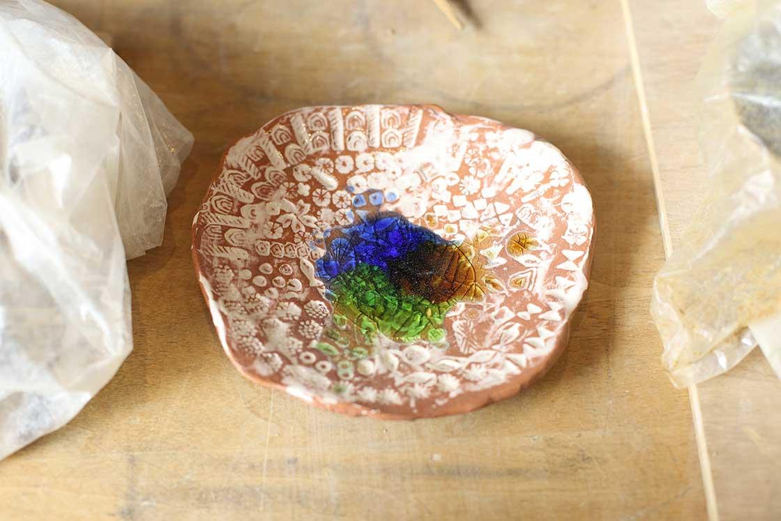 陶芸体験で小学生が実際に制作した力作