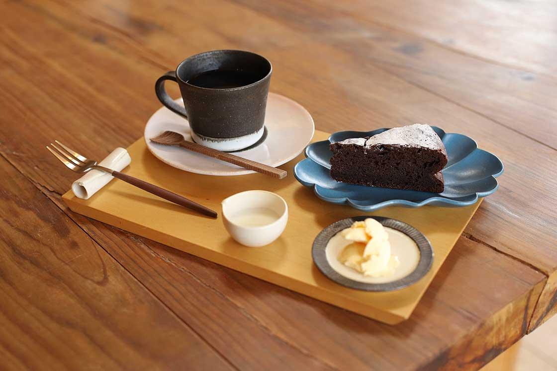 HOTOKIのカフェメニュー
