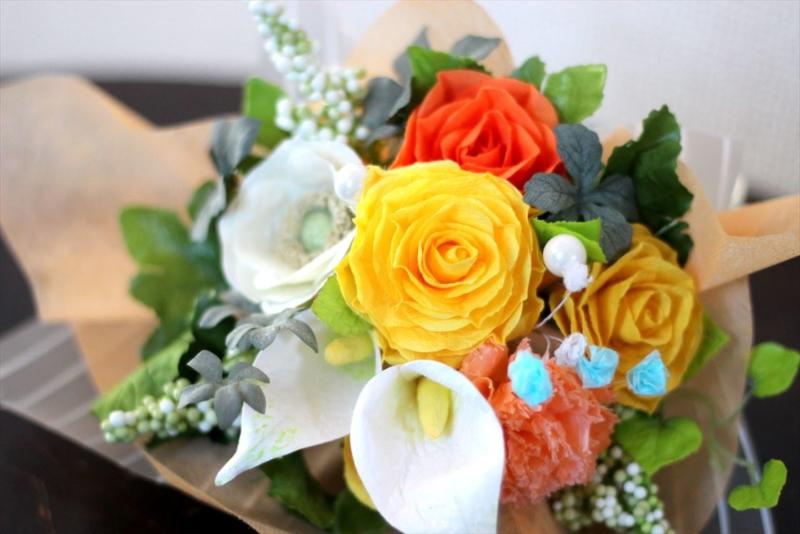 和紙造花は水に強い性質を持っています。