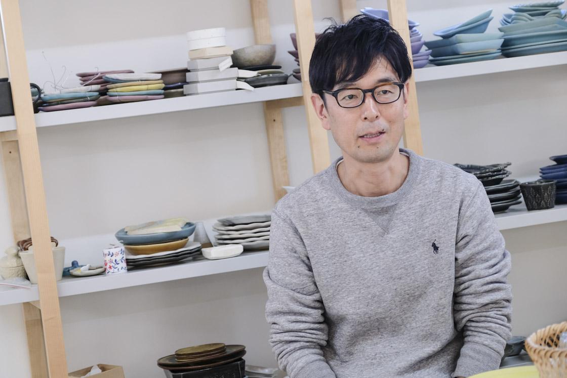 「よしざわ窯」代表の吉澤泰久さんにお話を伺いました