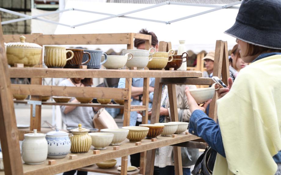 今年は連続10日間!「益子 春の陶器市」いよいよ開催