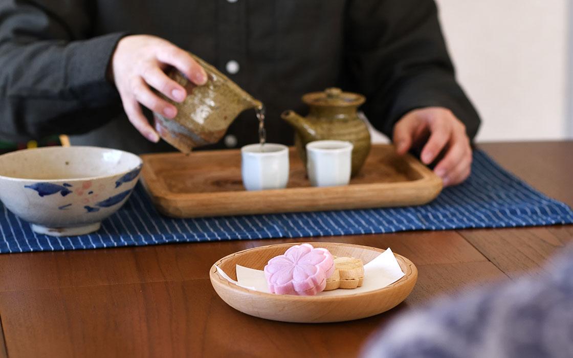 北海道 高野繁廣さんの木のうつわでお茶の時間