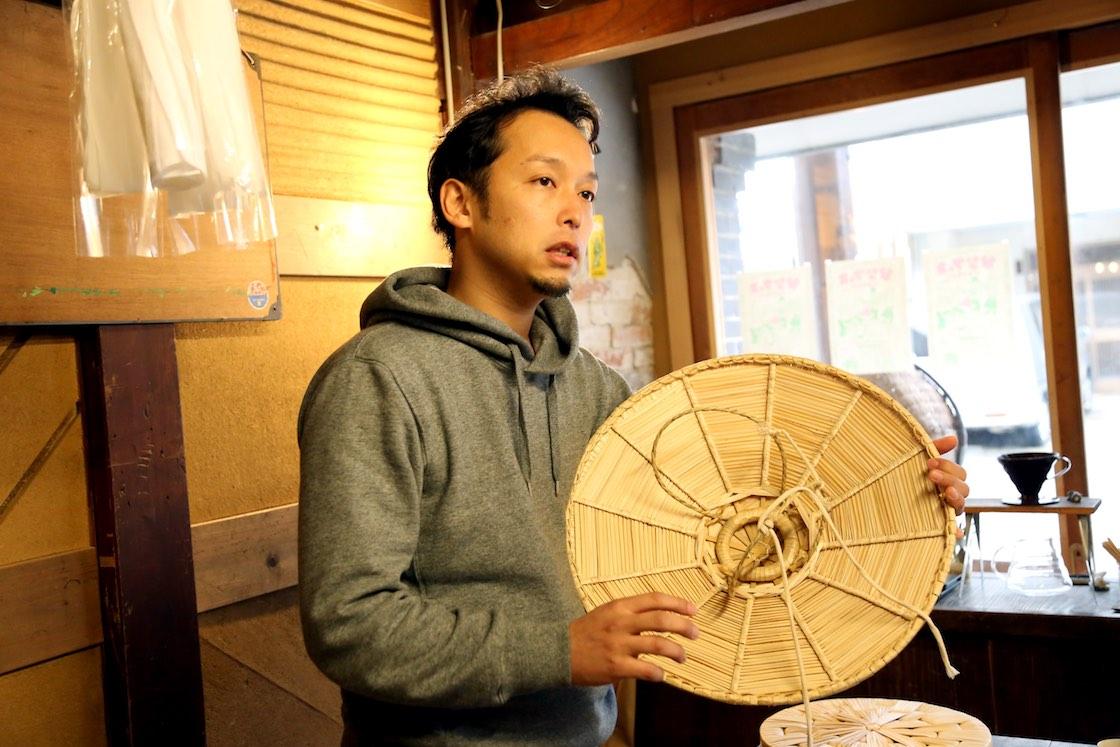 400年ほどの歴史を持つ「越中福岡の菅笠」。国の伝統工芸品にも指定されています