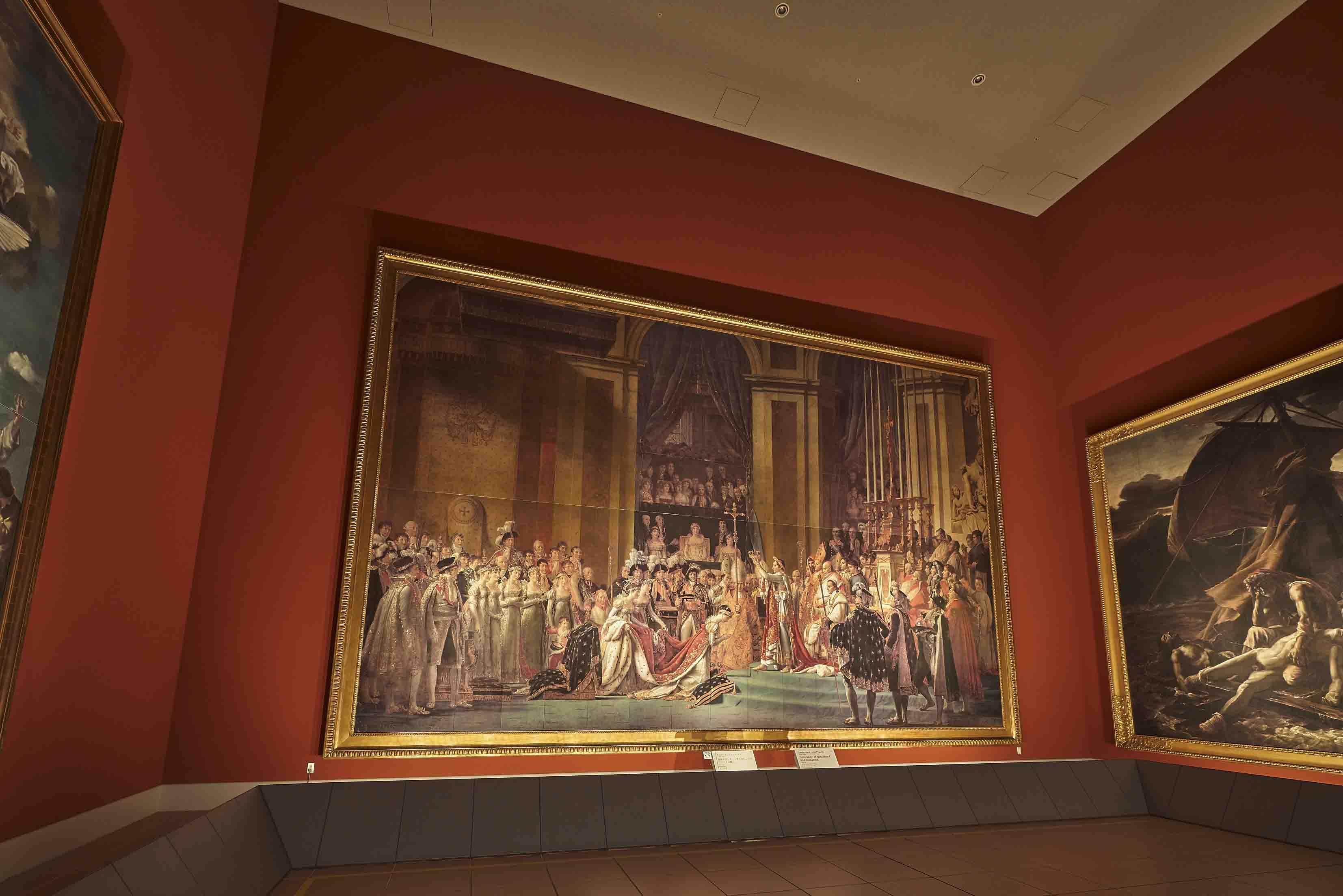 《ナポレオン1世と皇后ジョゼフィーヌの戴冠》。ルーヴル美術館所蔵のレプリカ