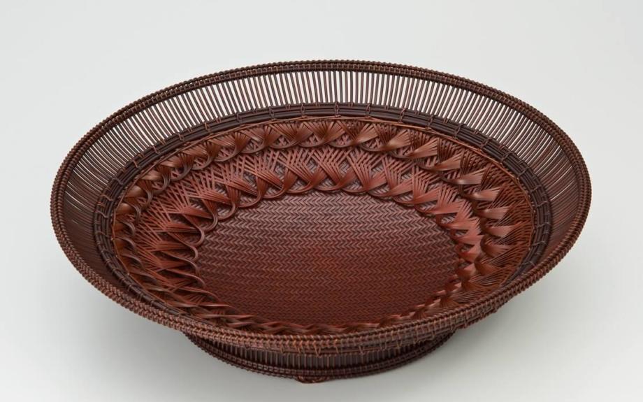 人間国宝の作品を含む70点超が大集合。木竹工芸の最高峰に出会える展覧会が開催