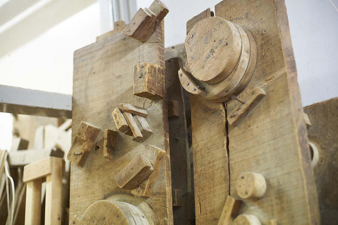 使用する木枠の種類もさまざま