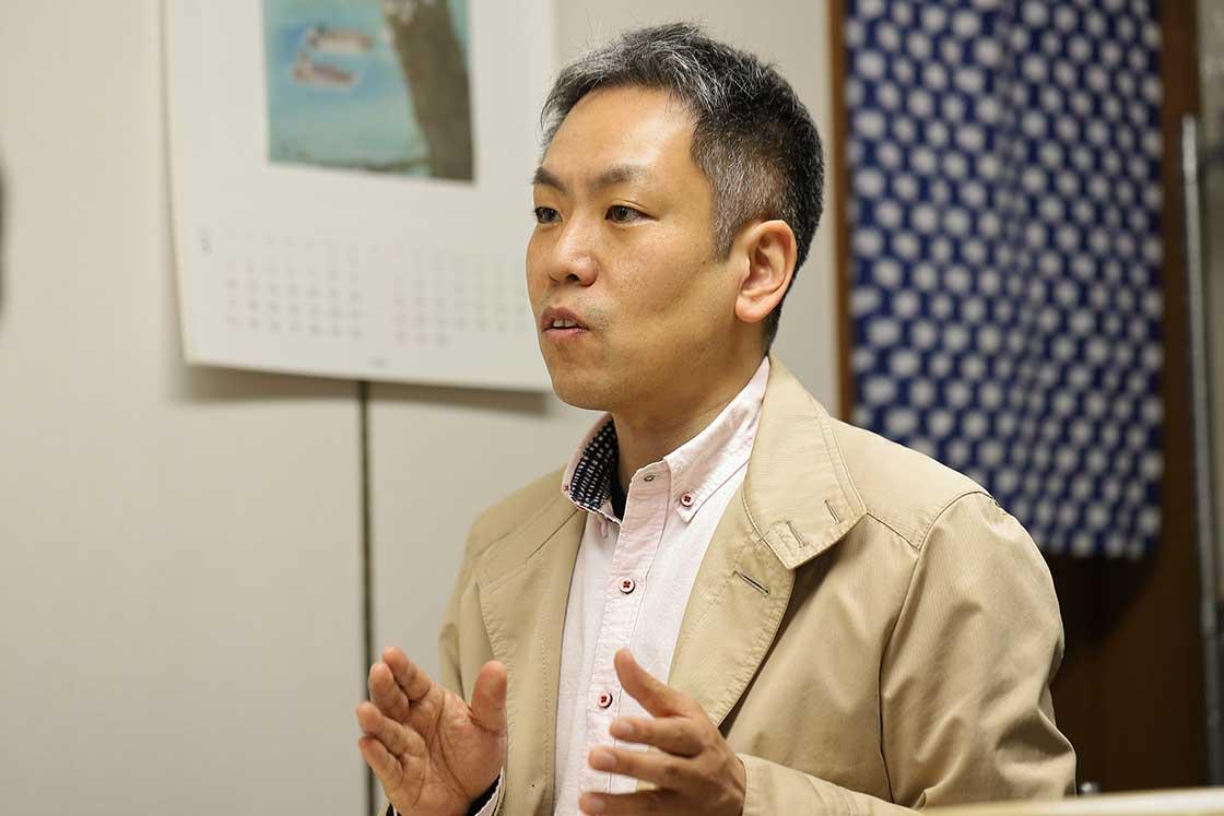 代表で四代目の山田博隆さん