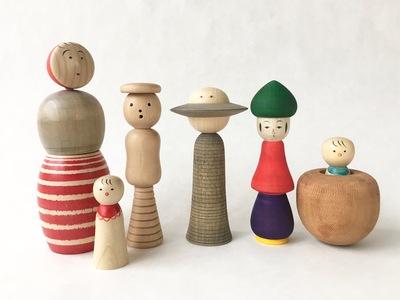 4000本のこけしに会える津軽こけし館で、木とこけしの祭典「Good!Wood!」開催中