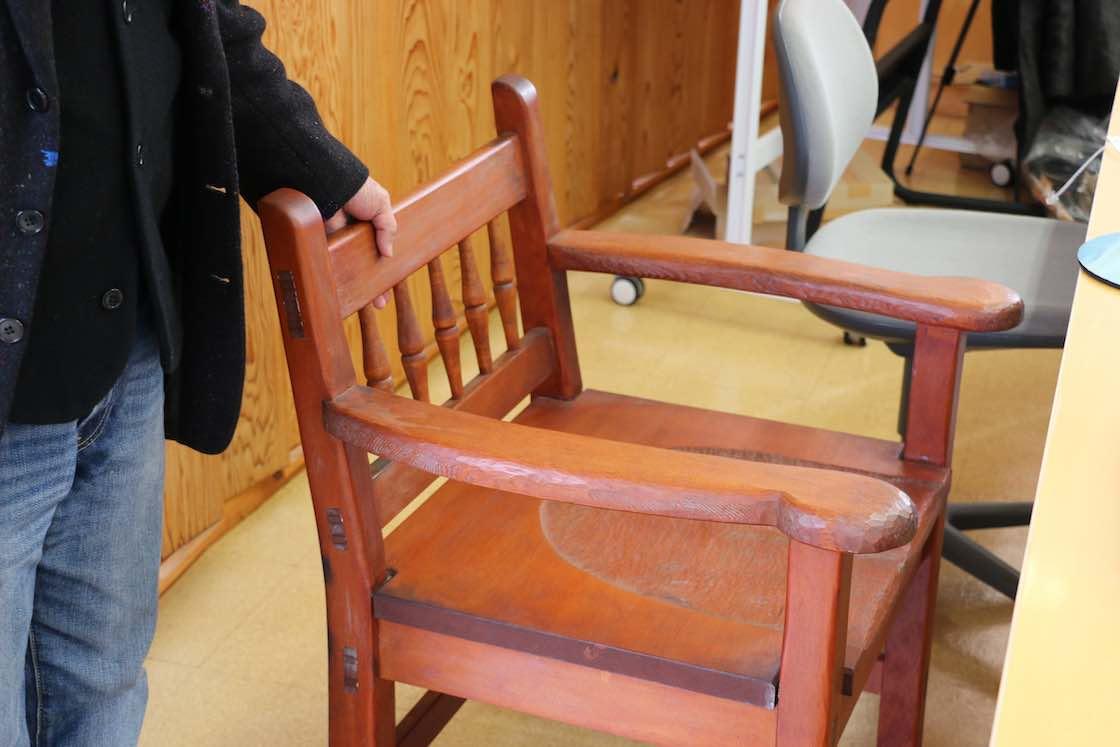 初期に作った椅子