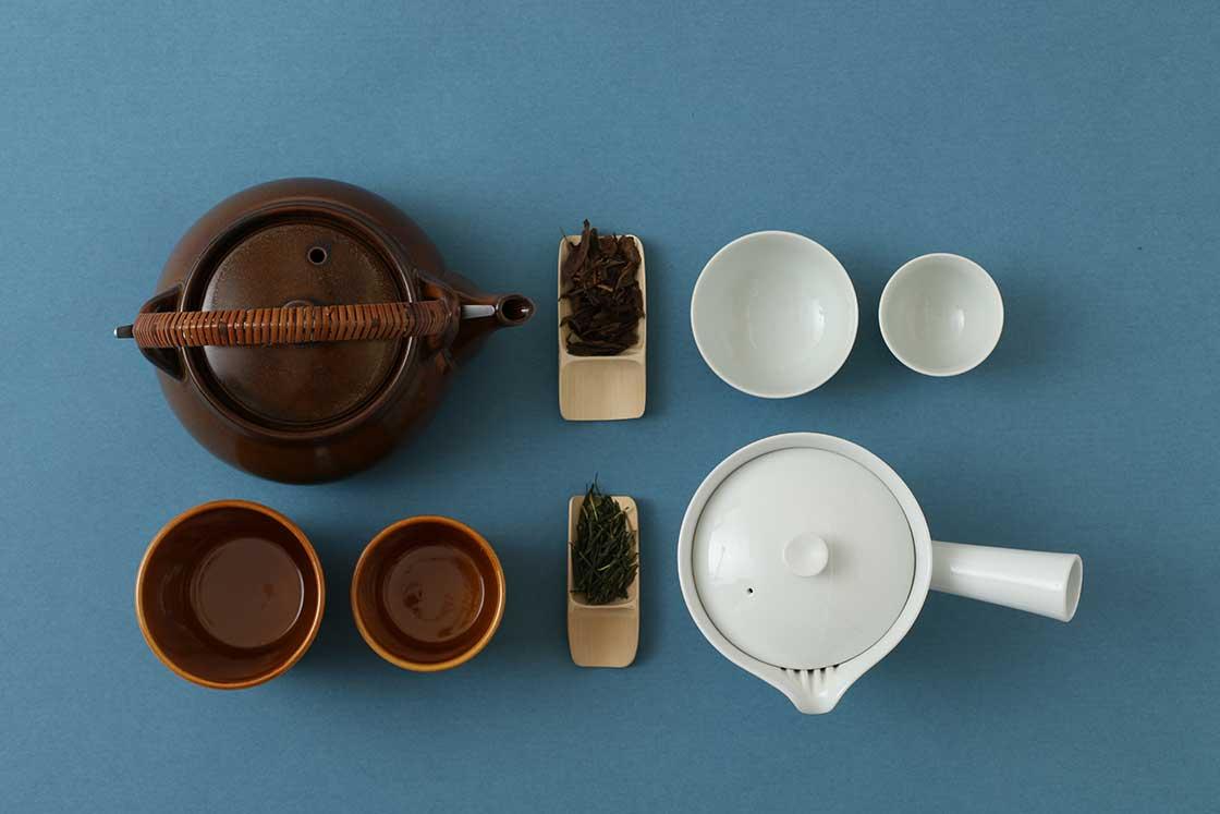 茶論の茶器