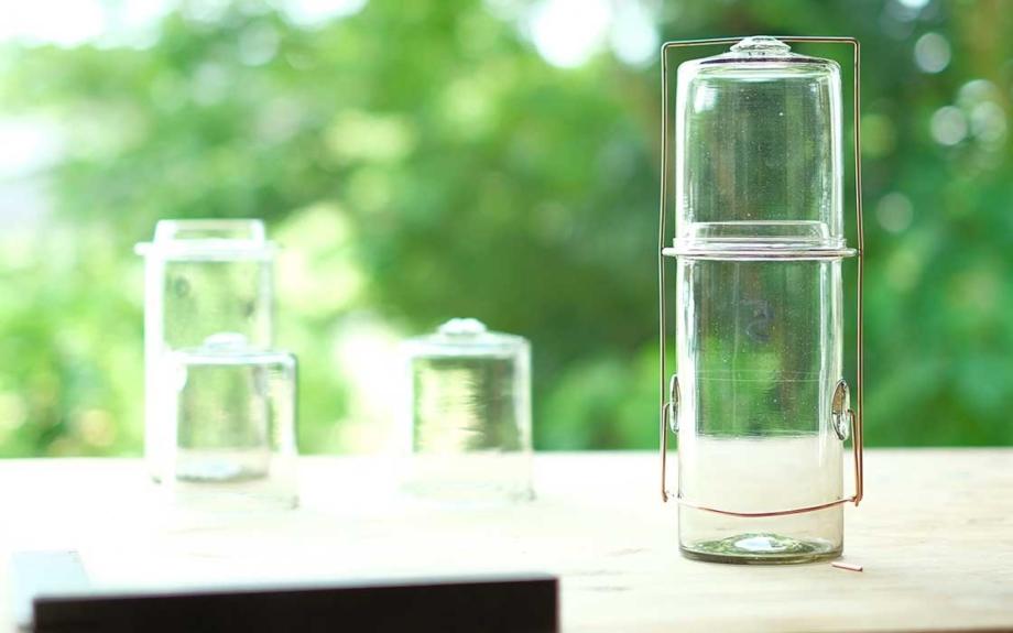 沖縄のLIQUIDが2周年!アニバーサリー企画「Peter Ivyのガラスの仕事展」が開催