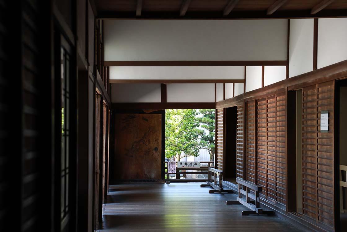 南禅寺 方丈の廊下