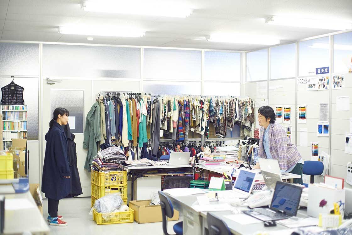 コーヘンのデザイナー神山さんと大江社長