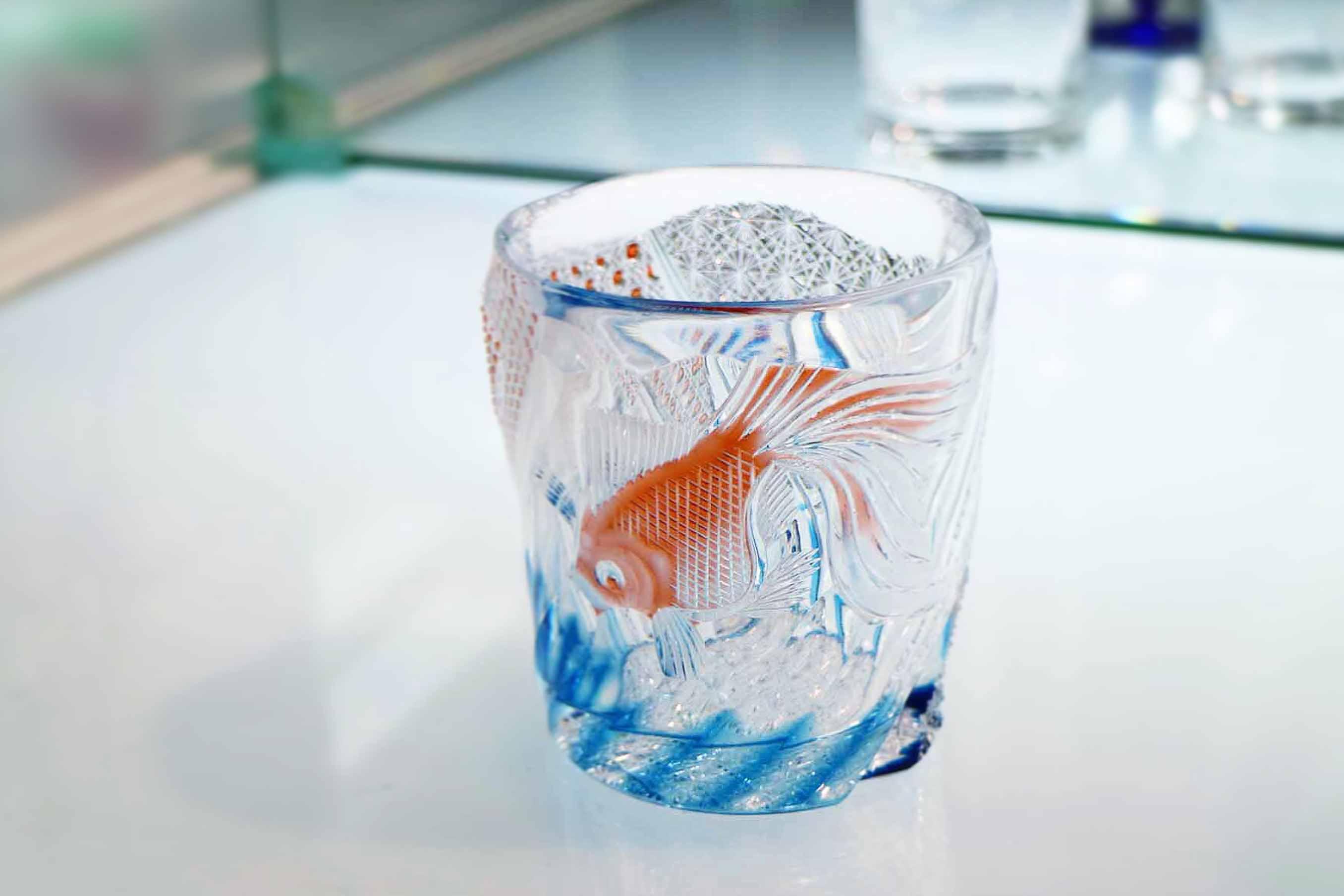金魚のオールドグラス 75,600円 (税込)