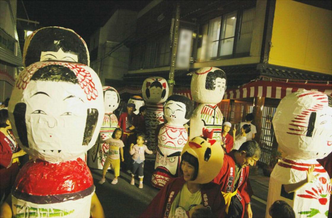 全国こけし祭り フェスティバルパレード