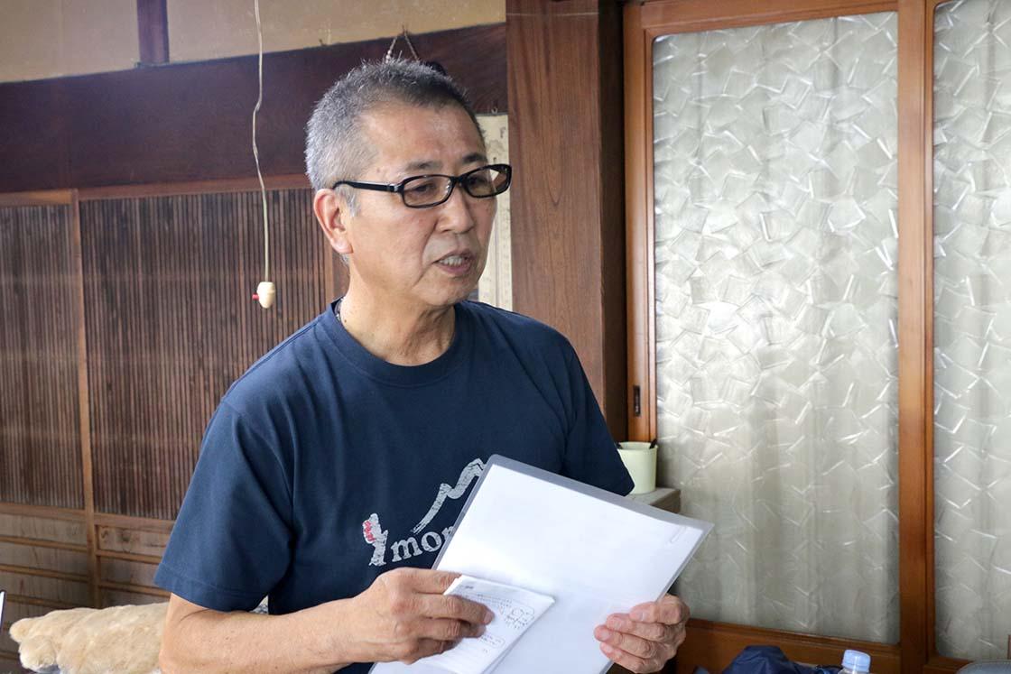 杉村繊維工業株式会社の杉村さん