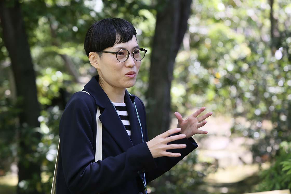 植彌加藤造園株式会社 山田咲さん
