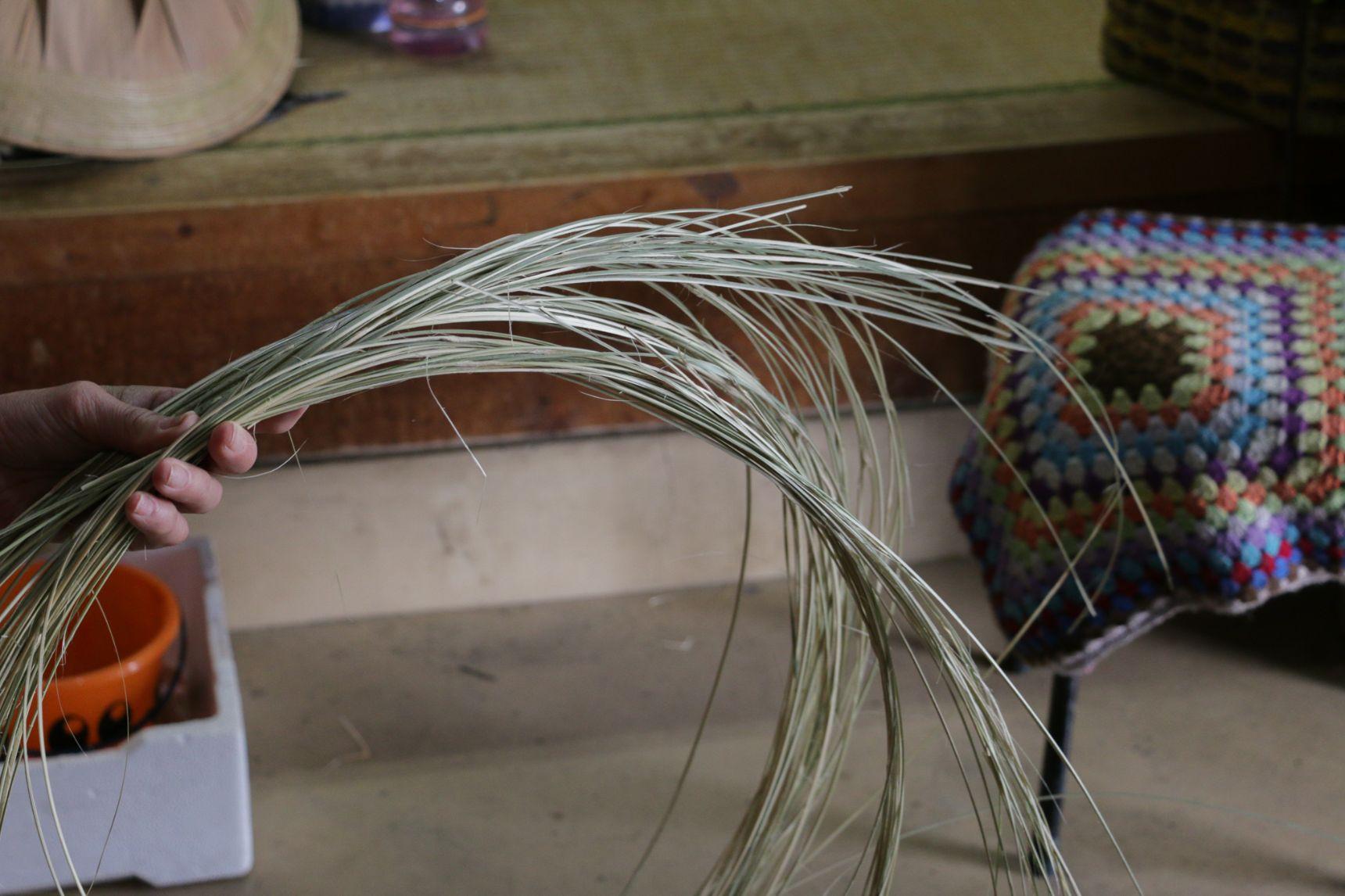 土用竹の竹ひご