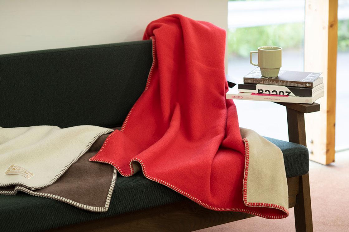 中川政七商店の泉大津で作った毛布