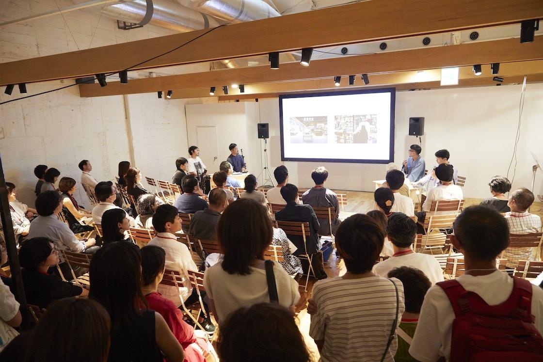 「人が集まるローカルショップのつくり方」と題して開催。当日は「立ち見も満員」という人気ぶりでした