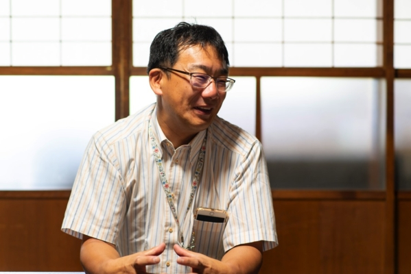 高取町観光協会会長の吉田浩司さん