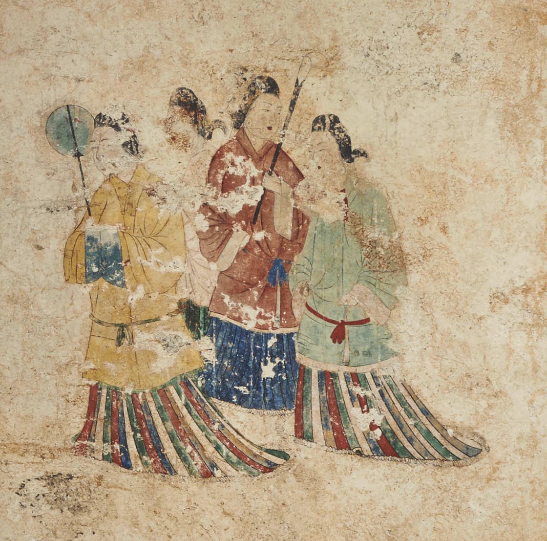 高松塚古墳壁画原寸大コロタイプ複元