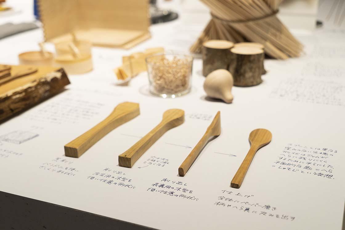 「中川政七商店が残したいものづくり ものづくりの途中展」の展示内容