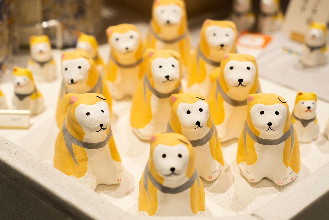 渋谷店限定商品「張り子飾り 渋谷犬」